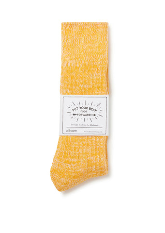 Marl Sock in Gold