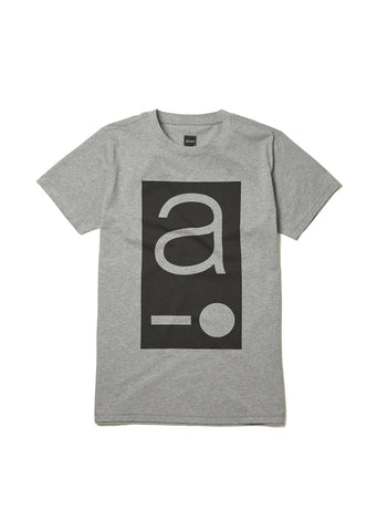 Code Logo T-Shirt in Grey