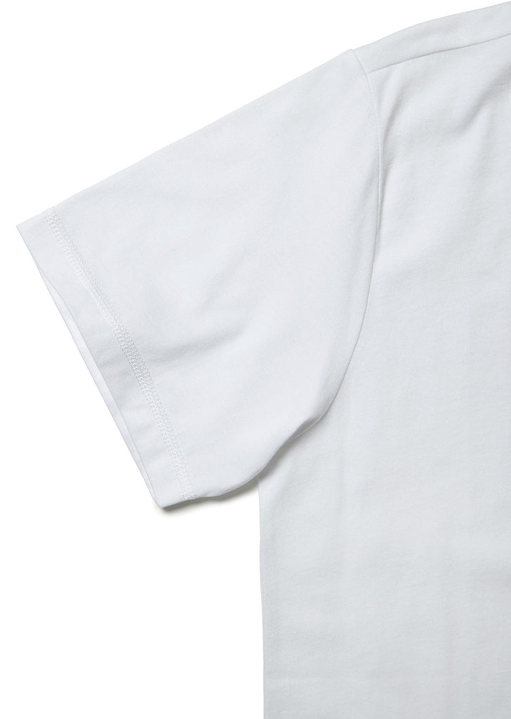 Code Logo T-Shirt In White