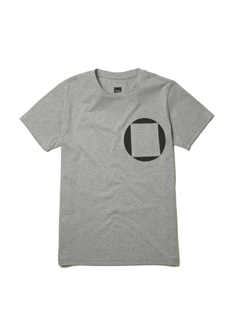 Factory Logo T-Shirt in Grey
