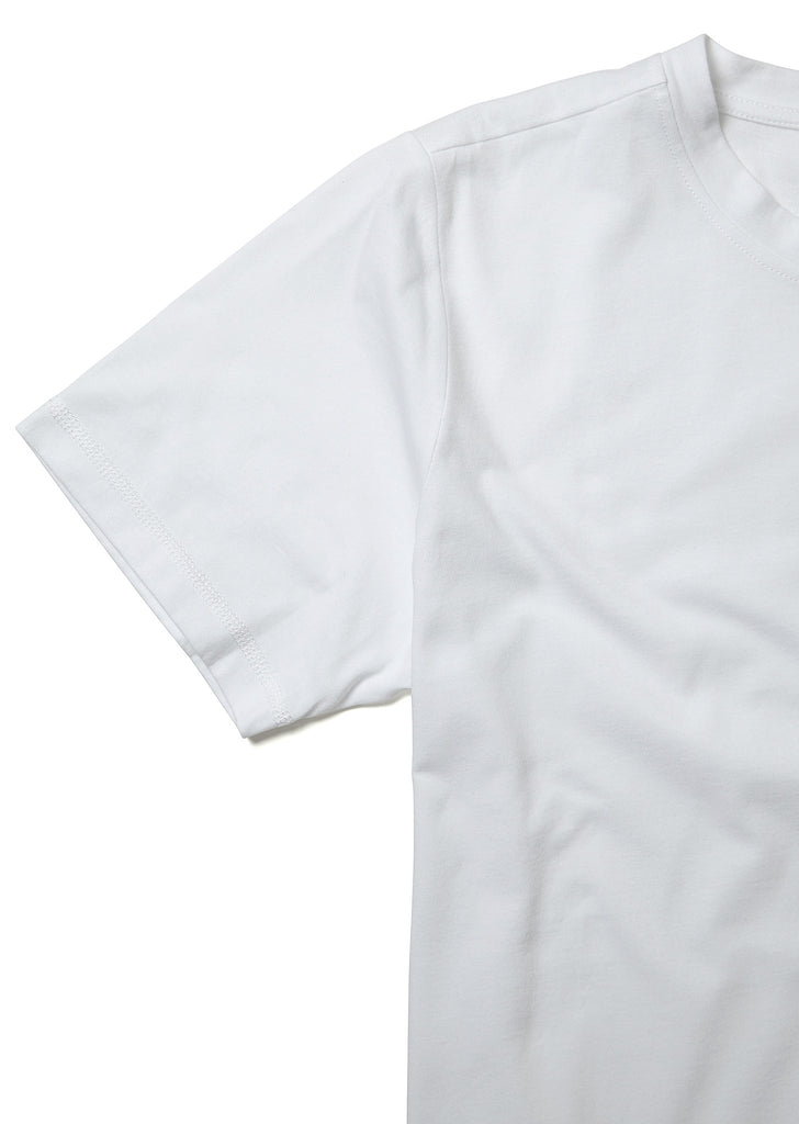 Factory Logo T-Shirt in White