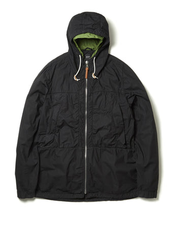 Equip Jacket in Washed Black