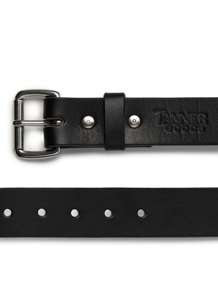 Tanner Goods Standard Belt in Black