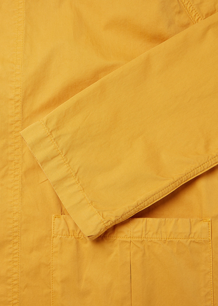 Brook Smock Jacket  in Golden Ochre