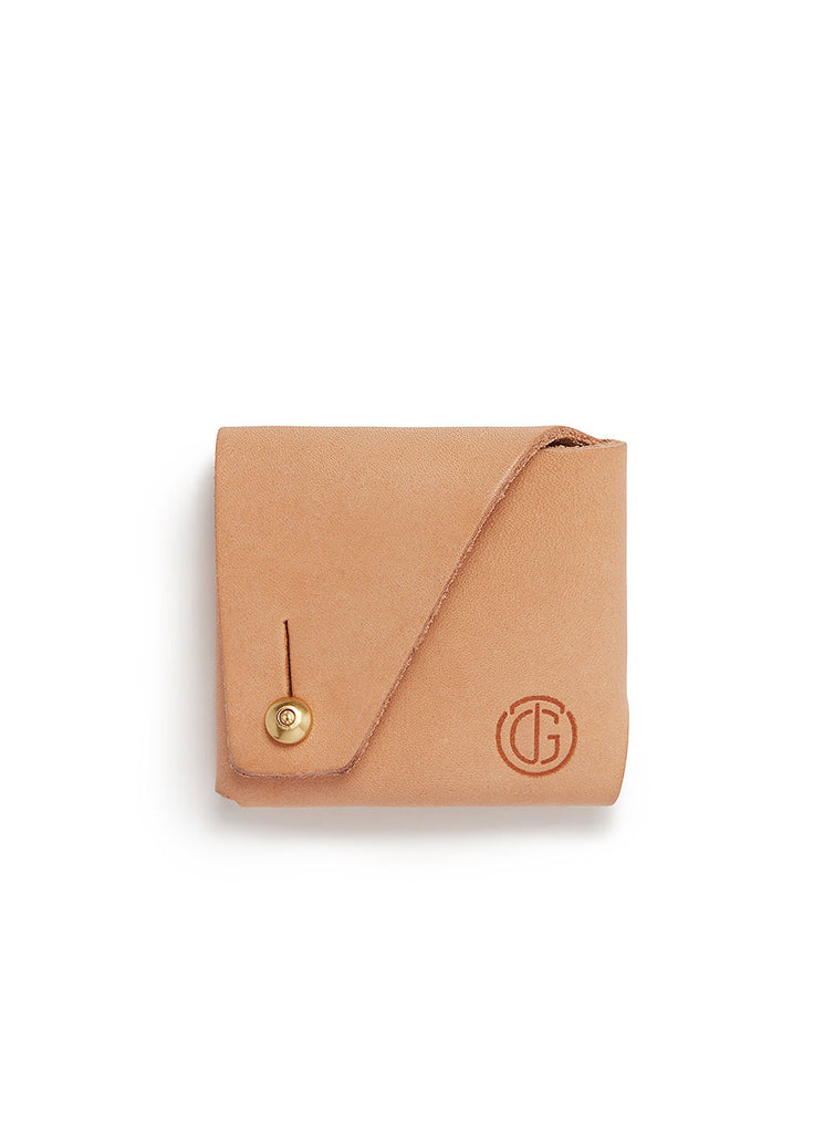 Tanner Goods Coin Pouch in Natural