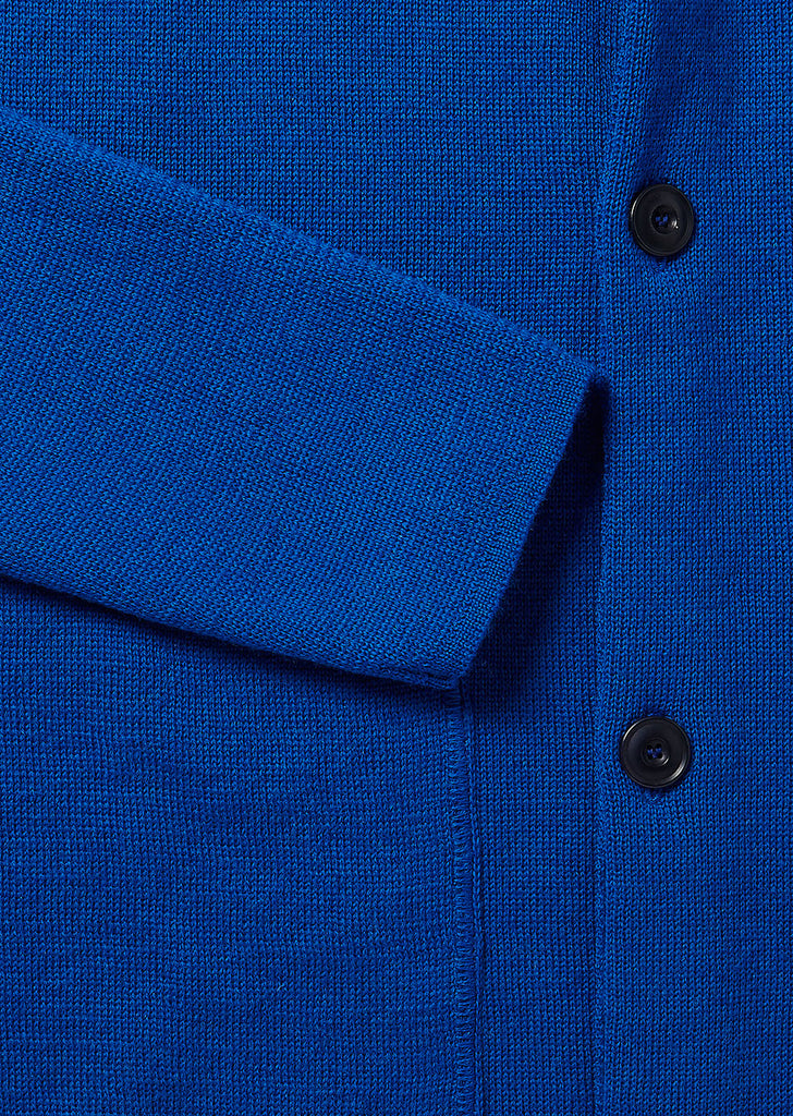 Milano Coach Jacket in Cobalt
