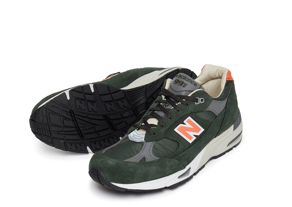 New Balance M991TNF in Green