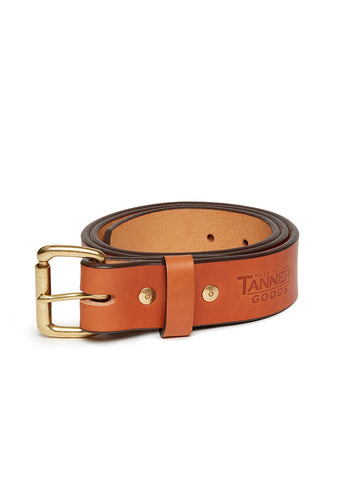 Tanner Goods Standard Belt in Saddle Tan