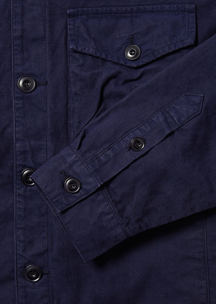 Work Blouson in Navy