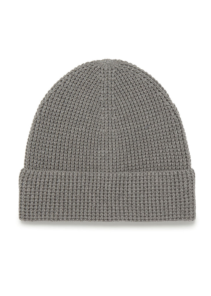 Cotton Beanie in Grey