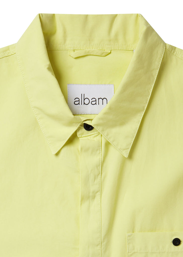 Apron Pocket Gardening Shirt in Lemongrass