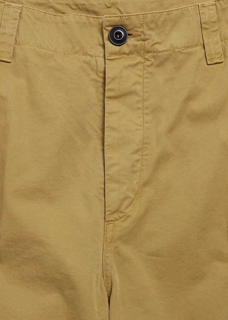 Loose Fitting Combat Trouser in Dijon