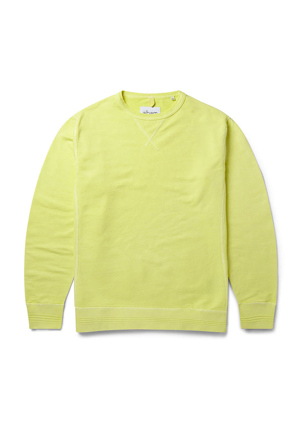 Classic Sweatshirt in Lemongrass