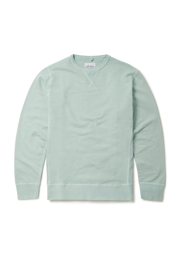 Classic Sweatshirt in Faded Jade