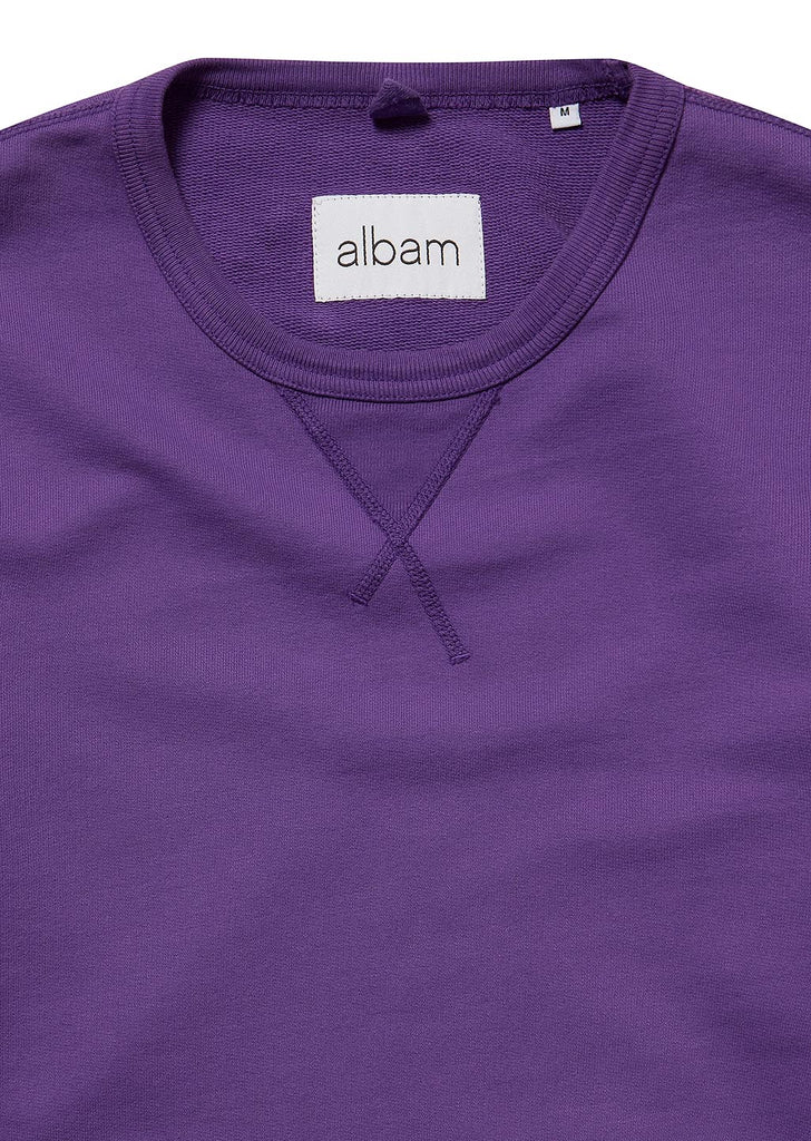 Classic Sweatshirt in Purple
