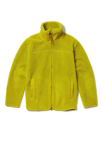 Combat Fleece Jacket in Golden Apple