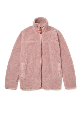 Combat Fleece Jacket in Pink