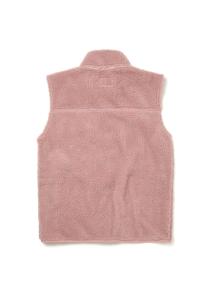 Combat Fleece Gilet in Pink