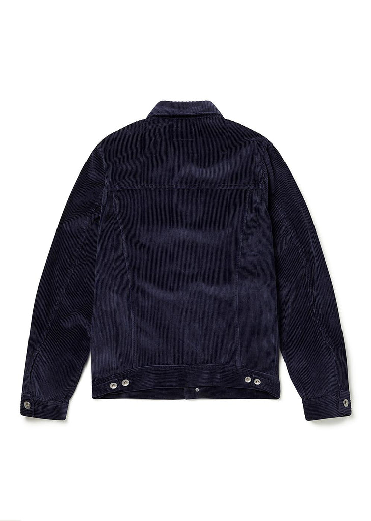 Cord Utility Jacket in Navy