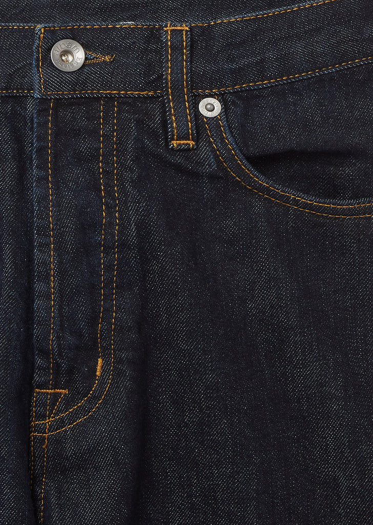 Regular Leg Jean in Rinse Wash