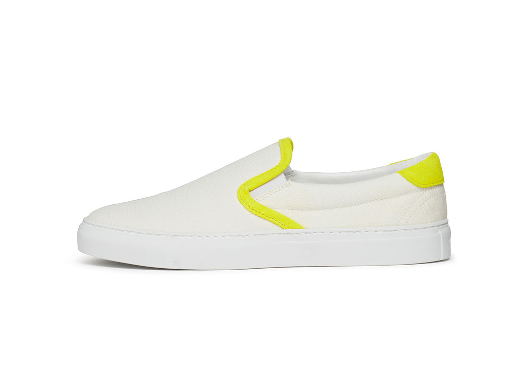 Diemme Garda Sneakers in White Canvas