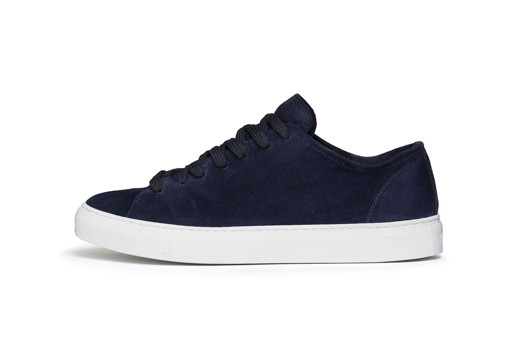 Diemme Loria Low Sneakers in Navy Suede