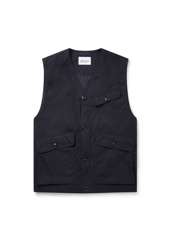 Flight Vest in Navy