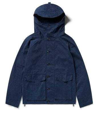 GD Military Hooded Parka in Dark Navy