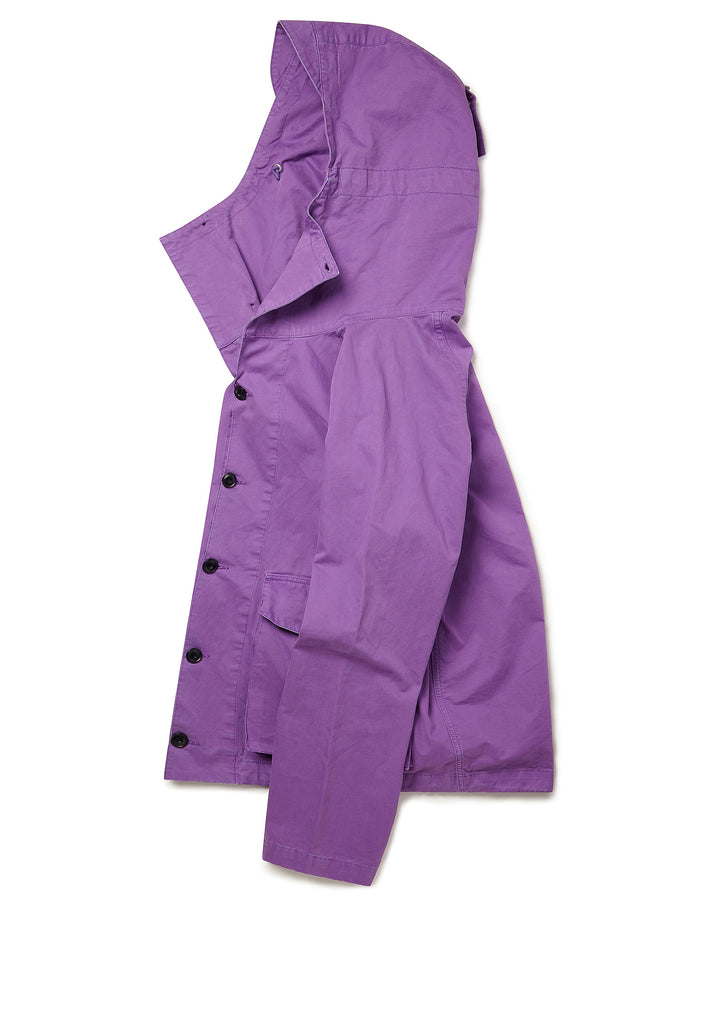 GD Military Hooded Parka in Purple