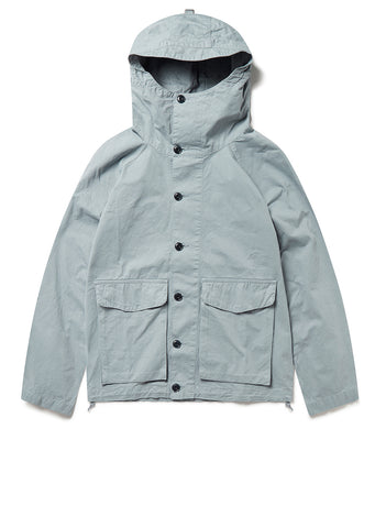 GD Military Hooded Parka in Steel Blue
