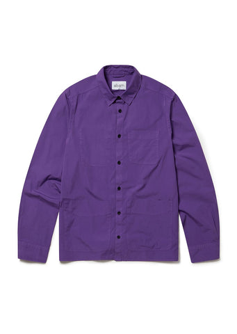 GD Work Overshirt in Purple
