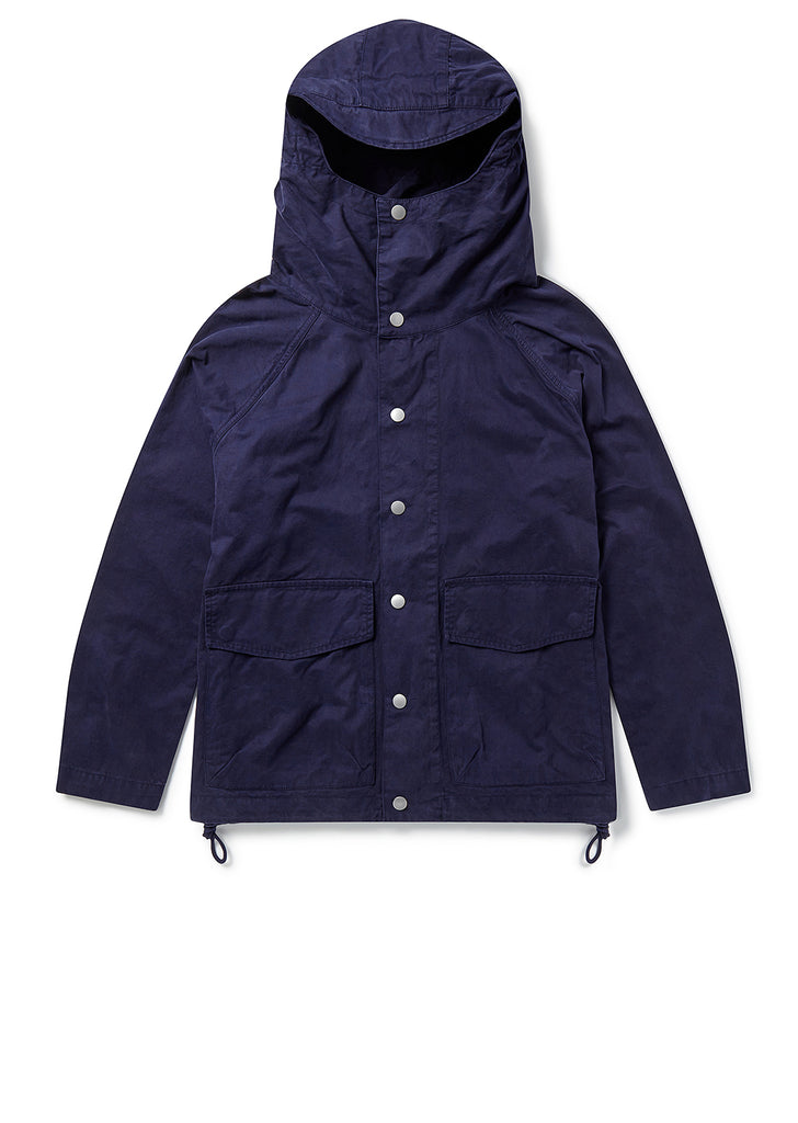 Hooded Parka in Navy