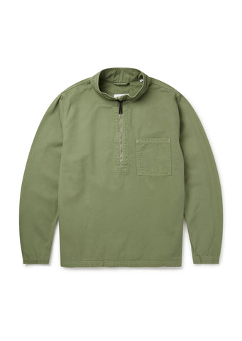 Hoy Smock in Oil Green
