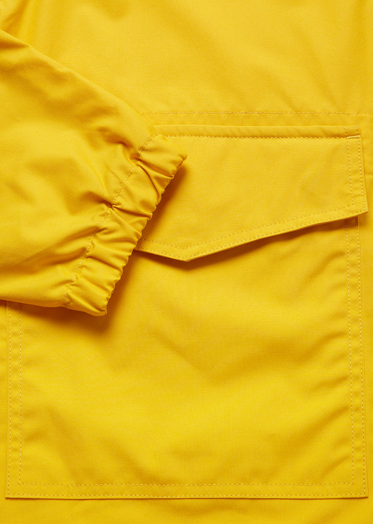 Canvas Modern Cagoule in Yellow