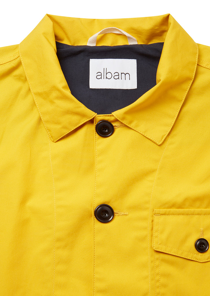 Canvas Rail Jacket in Yellow