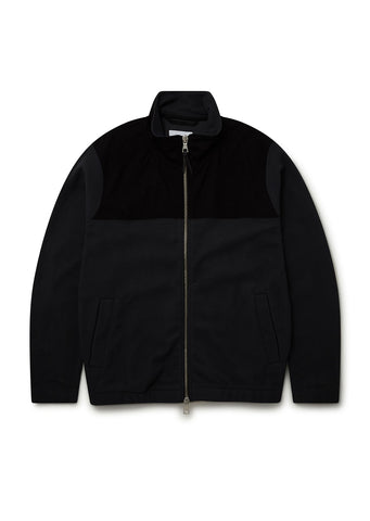Sport Fleece Jacket in Black