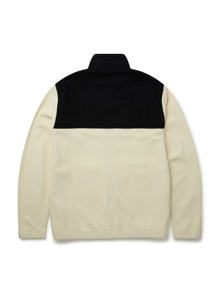 Sport Fleece Jacket in Ecru
