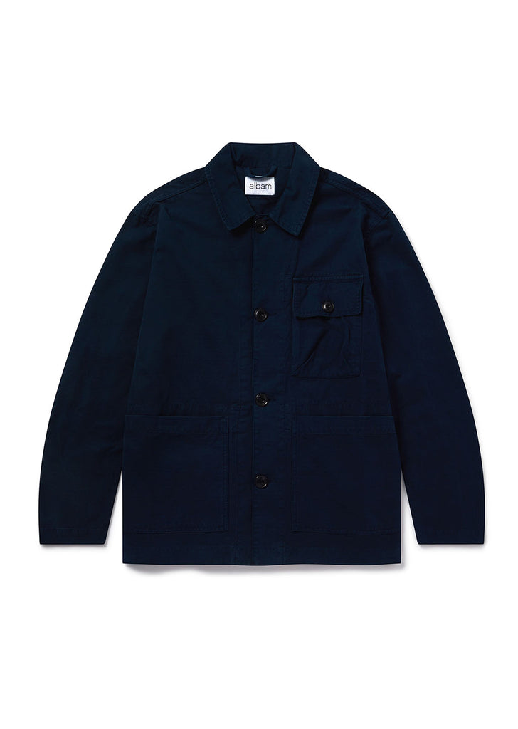 Gd Ripstop Rail Jacket in Navy