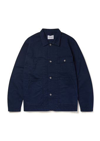Gd Twill Carpenters Jacket in Navy
