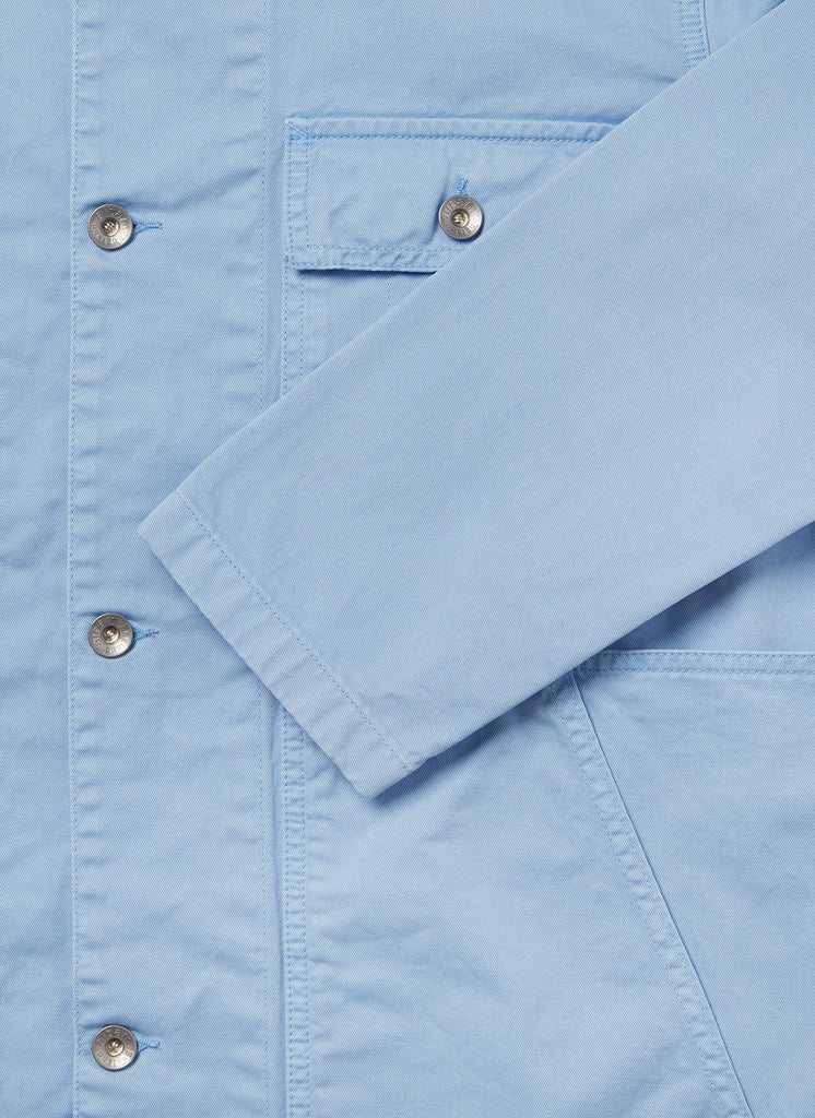 Gd Twill Carpenters Jacket in Light Blue