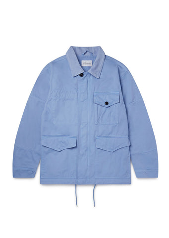Gd Twill Foundry Jacket in Light Blue