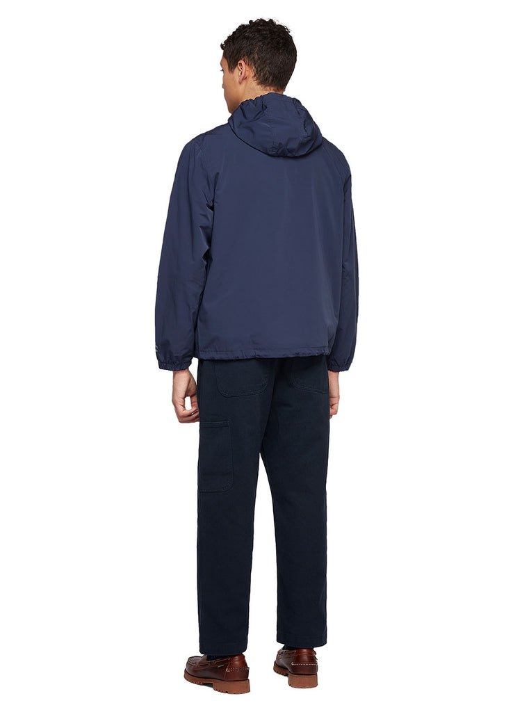 Utility Synthetic Cagoule in Navy