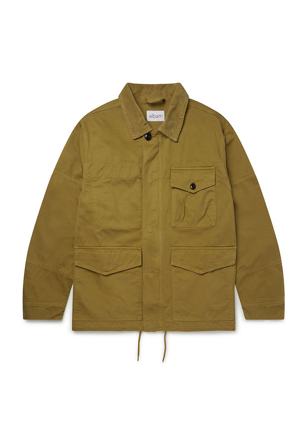 Gd Twill Foundry Jacket in Tobacco