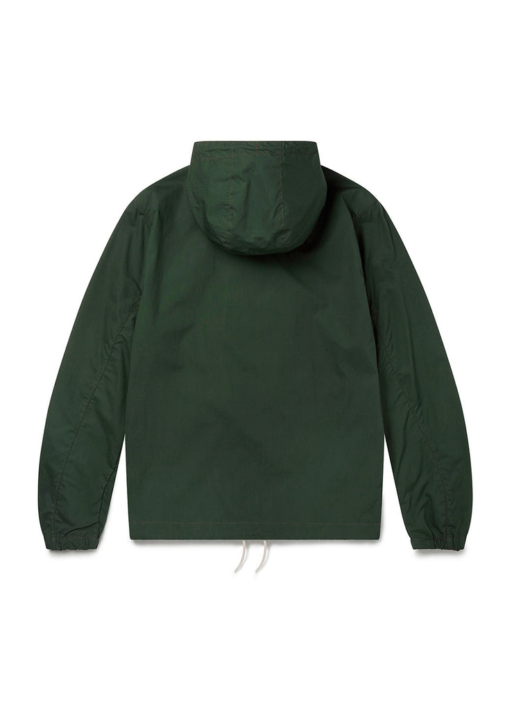Cotton Ripstop Modern Cagoule in Green