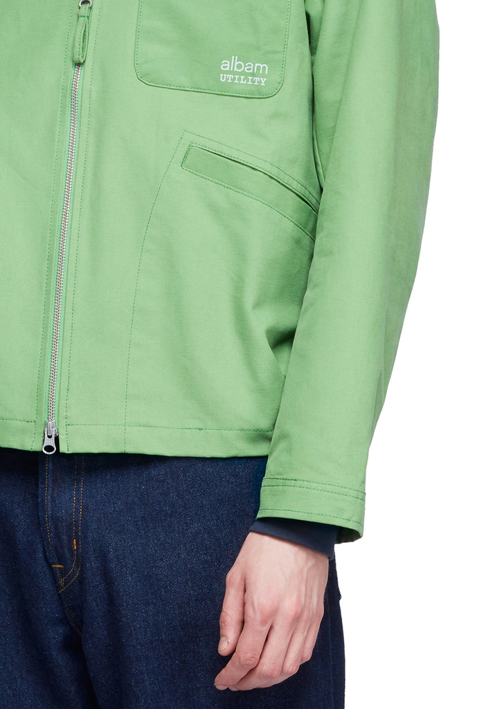 Utility Canvas Harrington in Green