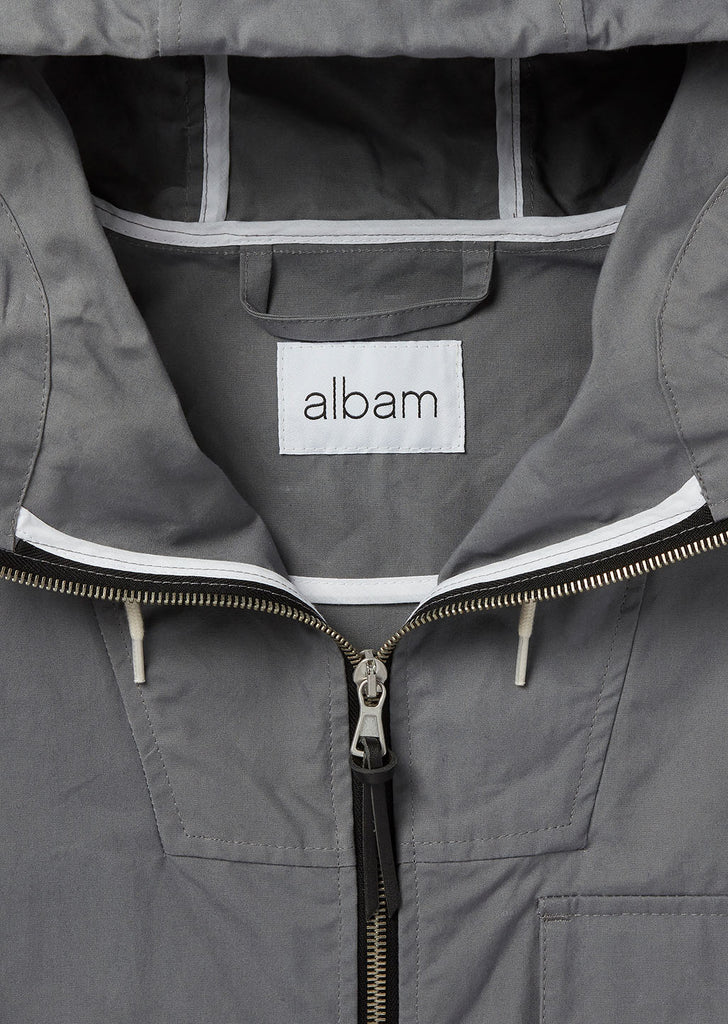 Canvas Storm Cagoule in Grey