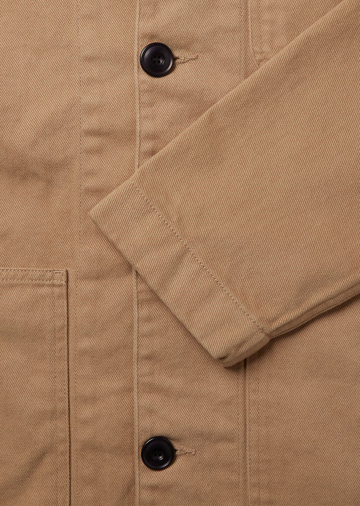 Drill Rail Jacket in Khaki