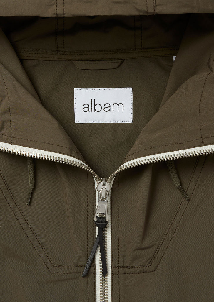 Drift Nylon Parka in Olive