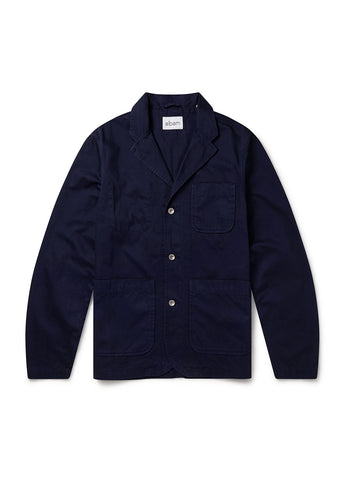 Hedge Casual Blazer in Navy