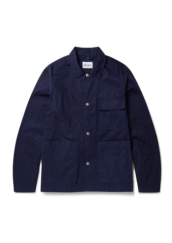 Gatton Work Jacket in Navy